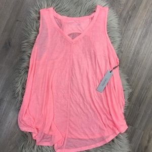Calvin Klein Relaxed Fit V Neck Tank Top